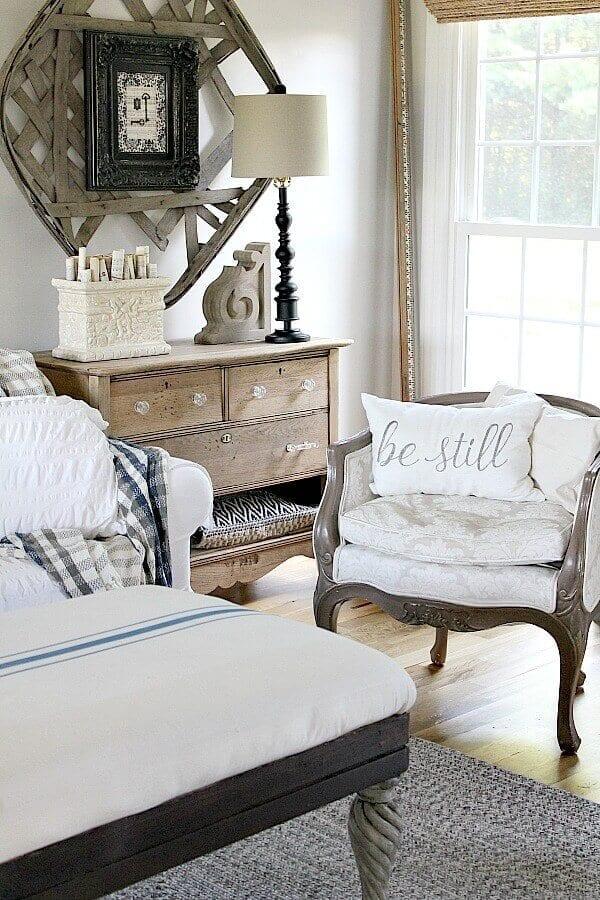 Welcome Home Sunday: DIY unfinished natural wood dresser