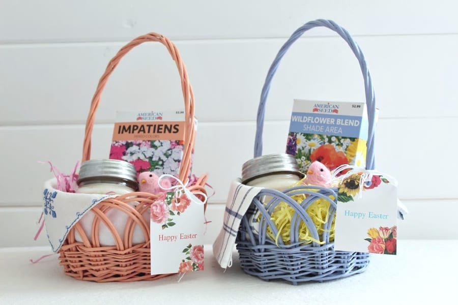 East basket ideas for hostess gifts!