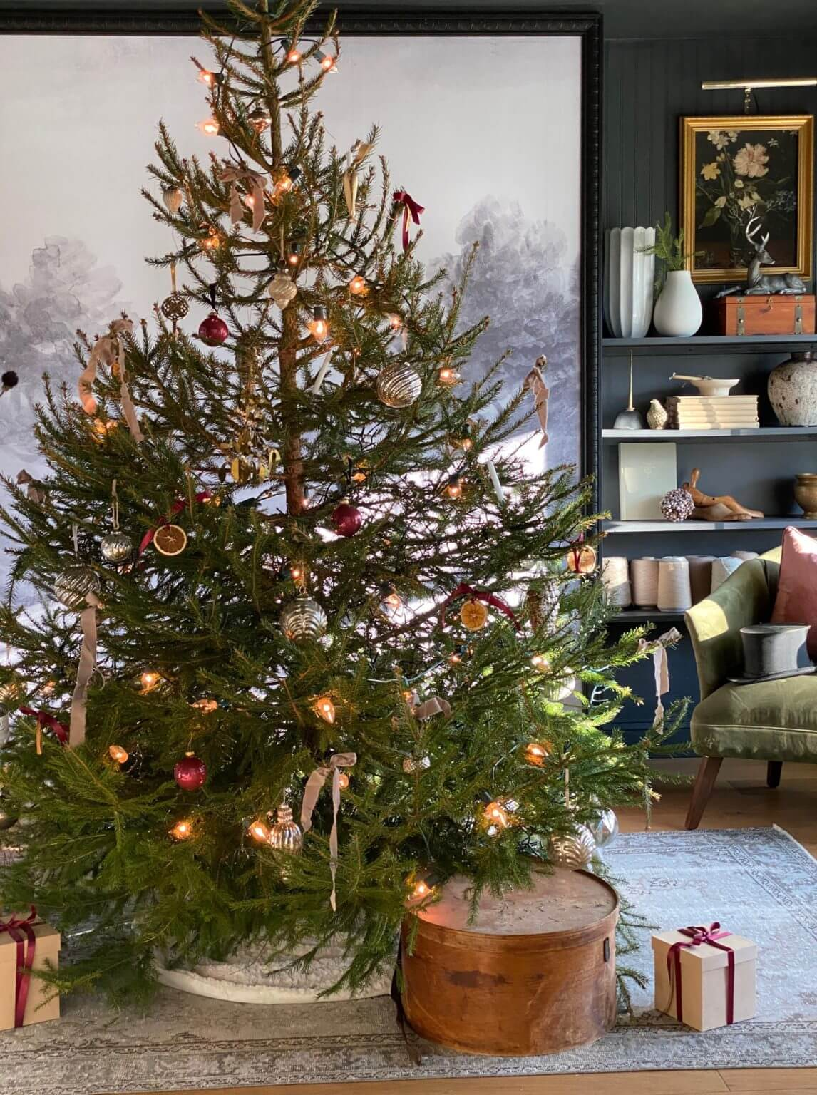 Welcome Home SUnday: European Farmhouse Christmas Tour Part II