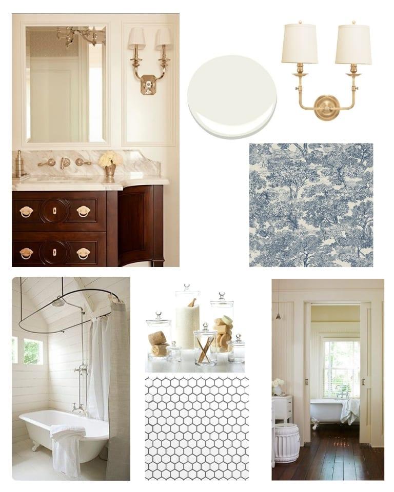 Master bathroom design plans