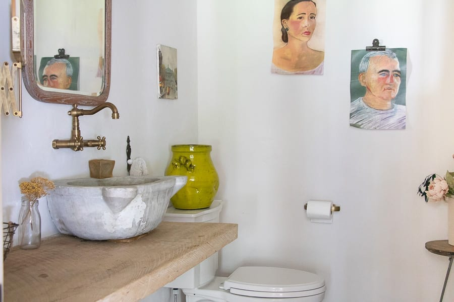 Welcome Home Sunday: Lime Paint Interior Walls