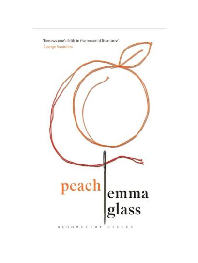 Peach Emma Glass