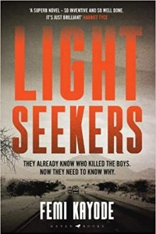 Cover of Lightseekers by Femi Kayode
