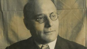 Picture of Karl Polanyi, the famous economist