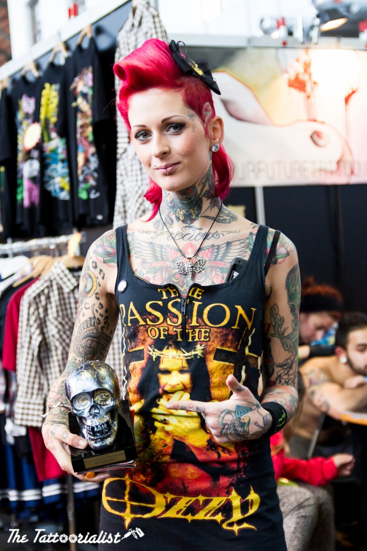 International Brussels Tattoos Convention 2012 Femke Fatale ©thetattoorialist
