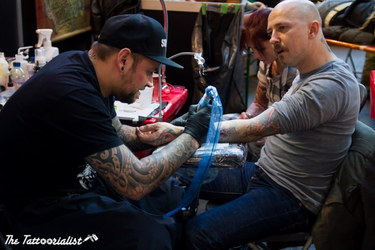 International brussels tattoo convention 2012