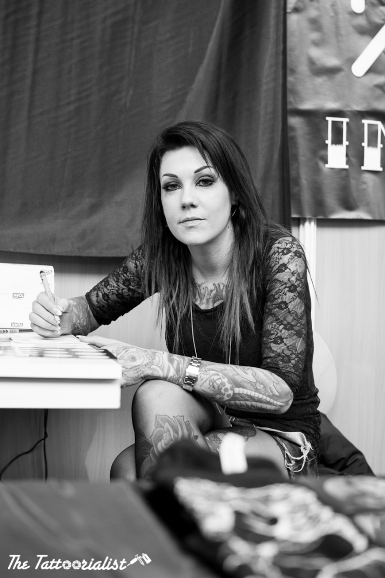 Vero Tattoomania Mondial du Tatouage Paris 2013 ©thetattoorialist