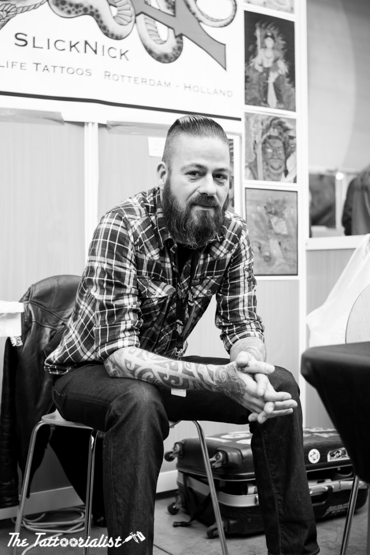 SlickNick 25tolifetattoos Mondial du Tatouage Paris 2013 ©thetattoorialist