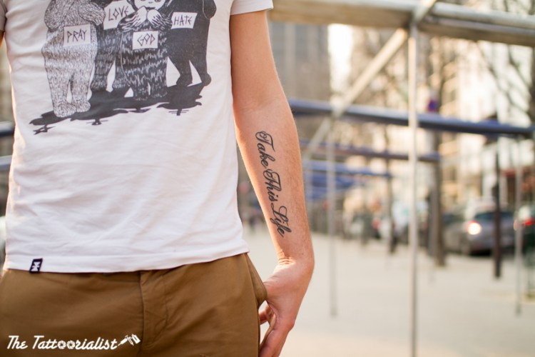 tattoos by Willem from Kahuna Studio Cannes photo by The Tattoorialist aka Nicolas Brulez