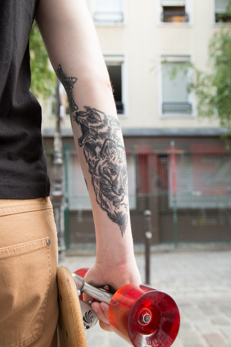 tattoo by Artcannes et Jessa Moulin photos by Nicolas Brulez aka The Tattoorialist for INKED MAG