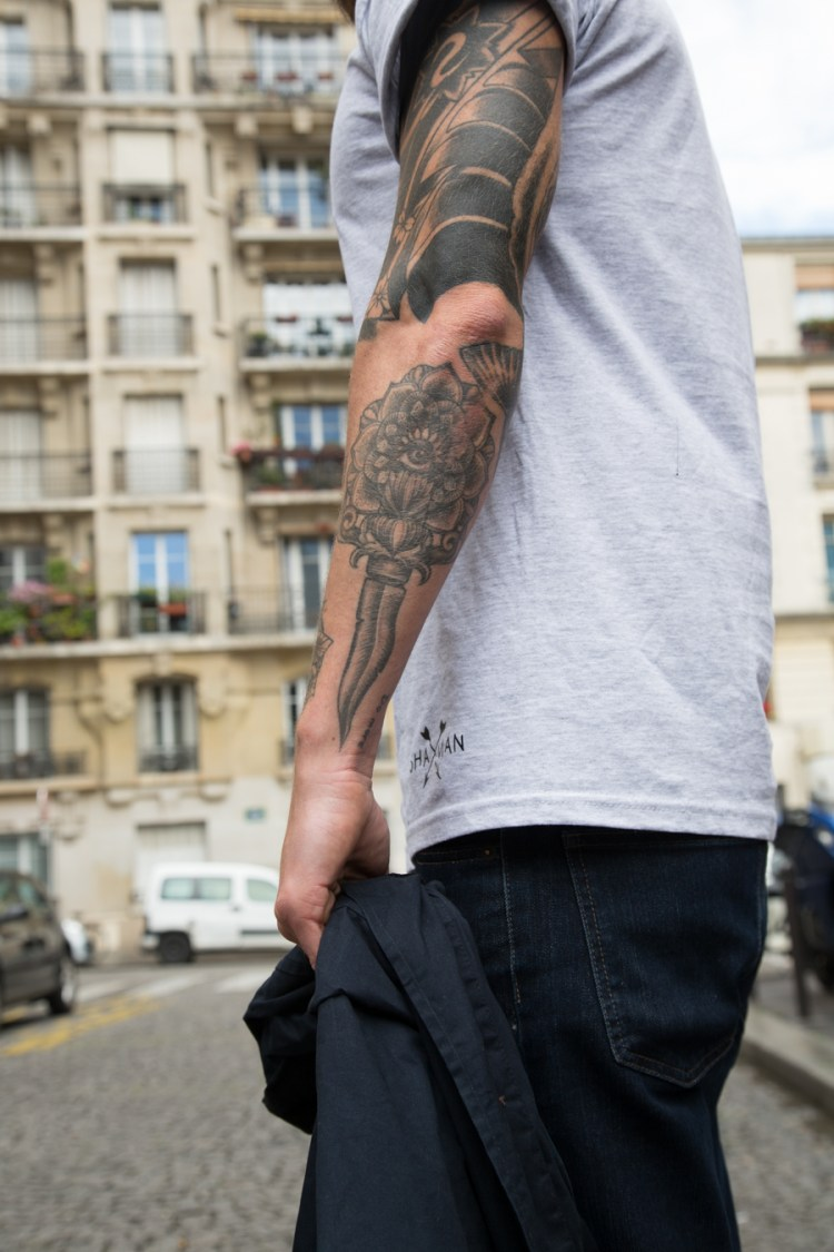 max no tattoos by Caroline karenine fixie by macadam cycles photos by Nicolas Brulez The Tattoorialist