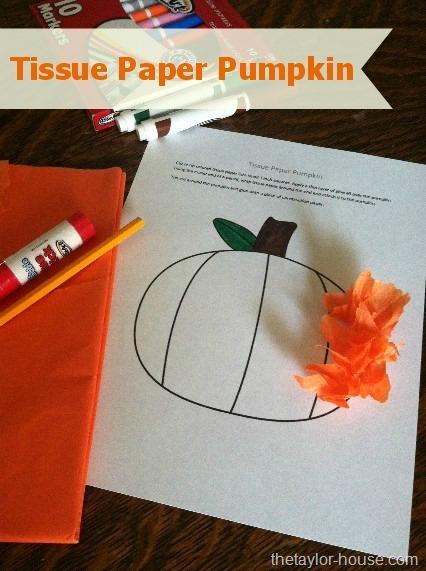 Pumpkin Halloween Crafts