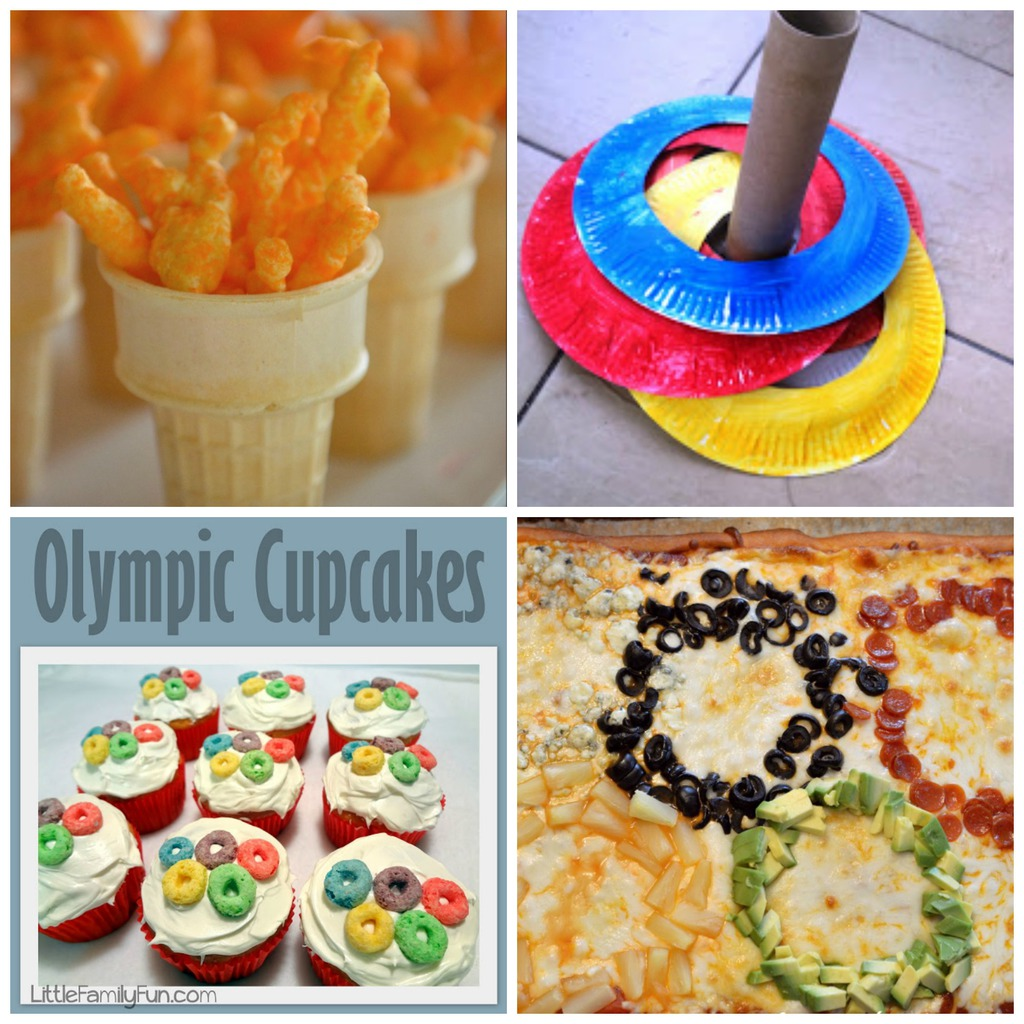 olympic themed party games