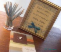 Baby Shower Guest Book Idea | The Taylor House