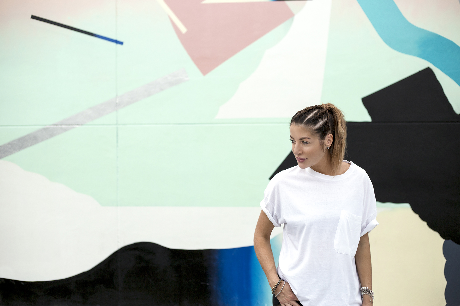 Pastels and Jufe Painting in Wynwood