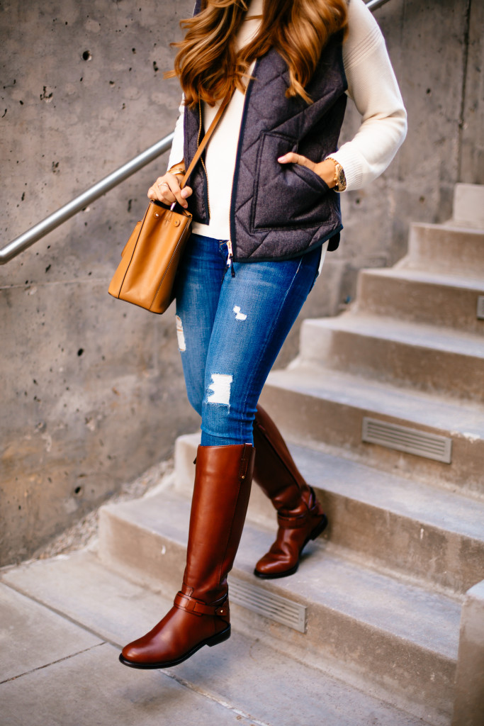 ashley living room rugs sale quilted vest & riding boots | the teacher diva: a dallas ...