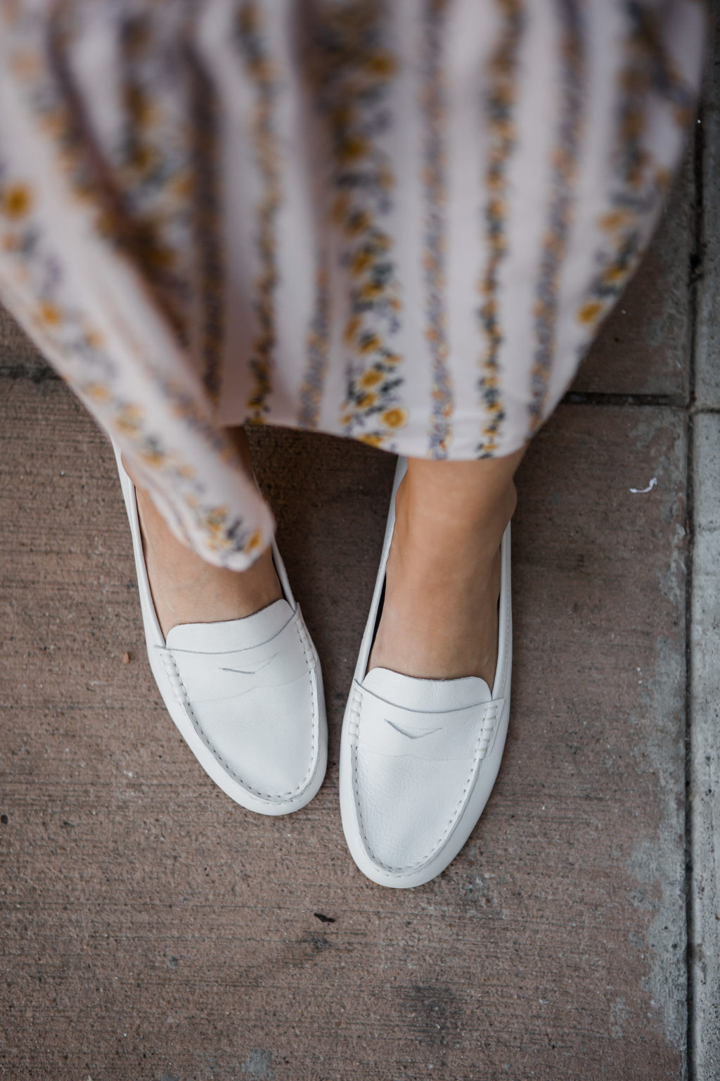 White Loafers for Spring  The Teacher Diva a Dallas