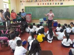 SUCD school visits in PH