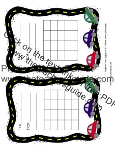 Cars reward chart color also free printable and incentive charts rh theteachersguide