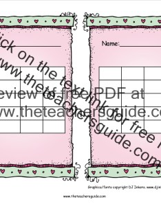 February reward chart also free printable and incentive charts rh theteachersguide