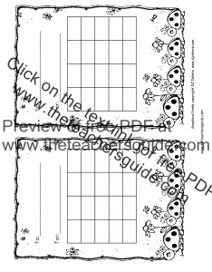 Ladybug incentive chart black and white also free printable reward charts rh theteachersguide