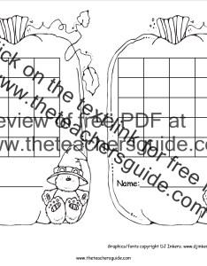 Pumpkin sticker chart also free printable reward and incentive charts rh theteachersguide