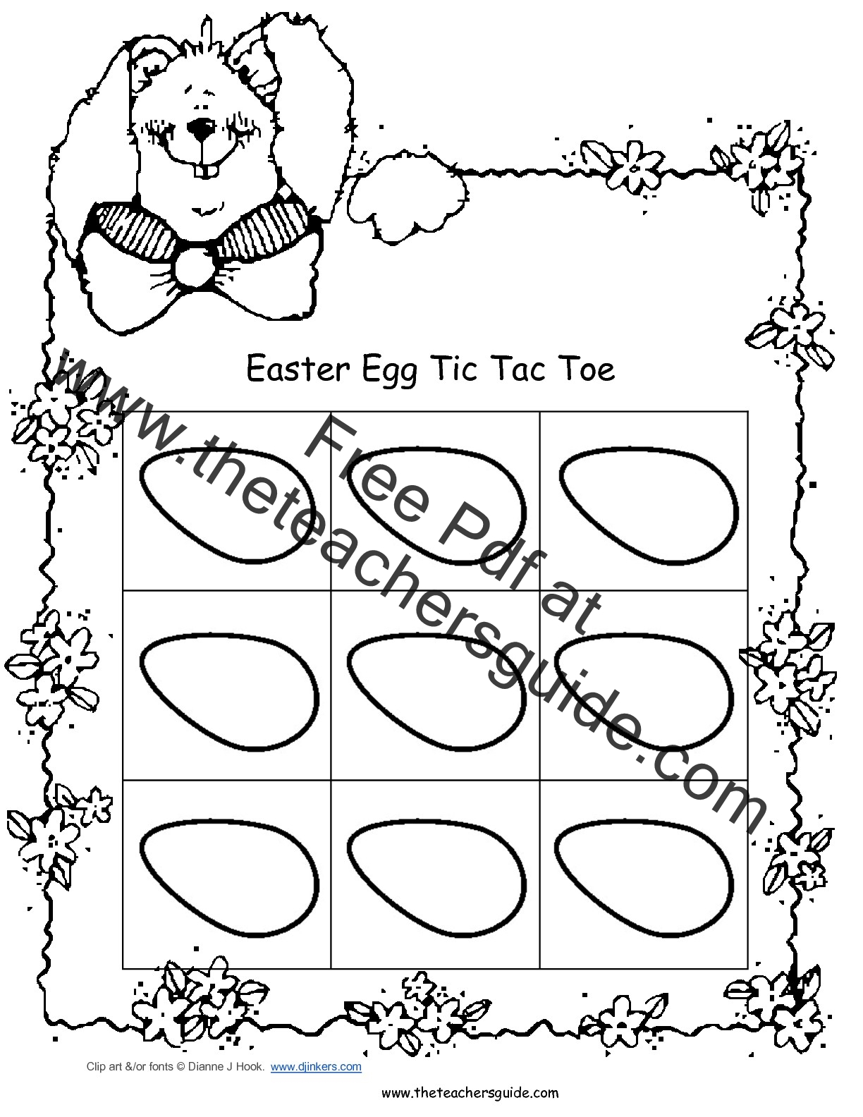Easter Lesson PLans, Themes, Printouts, Crafts, and Clip Art