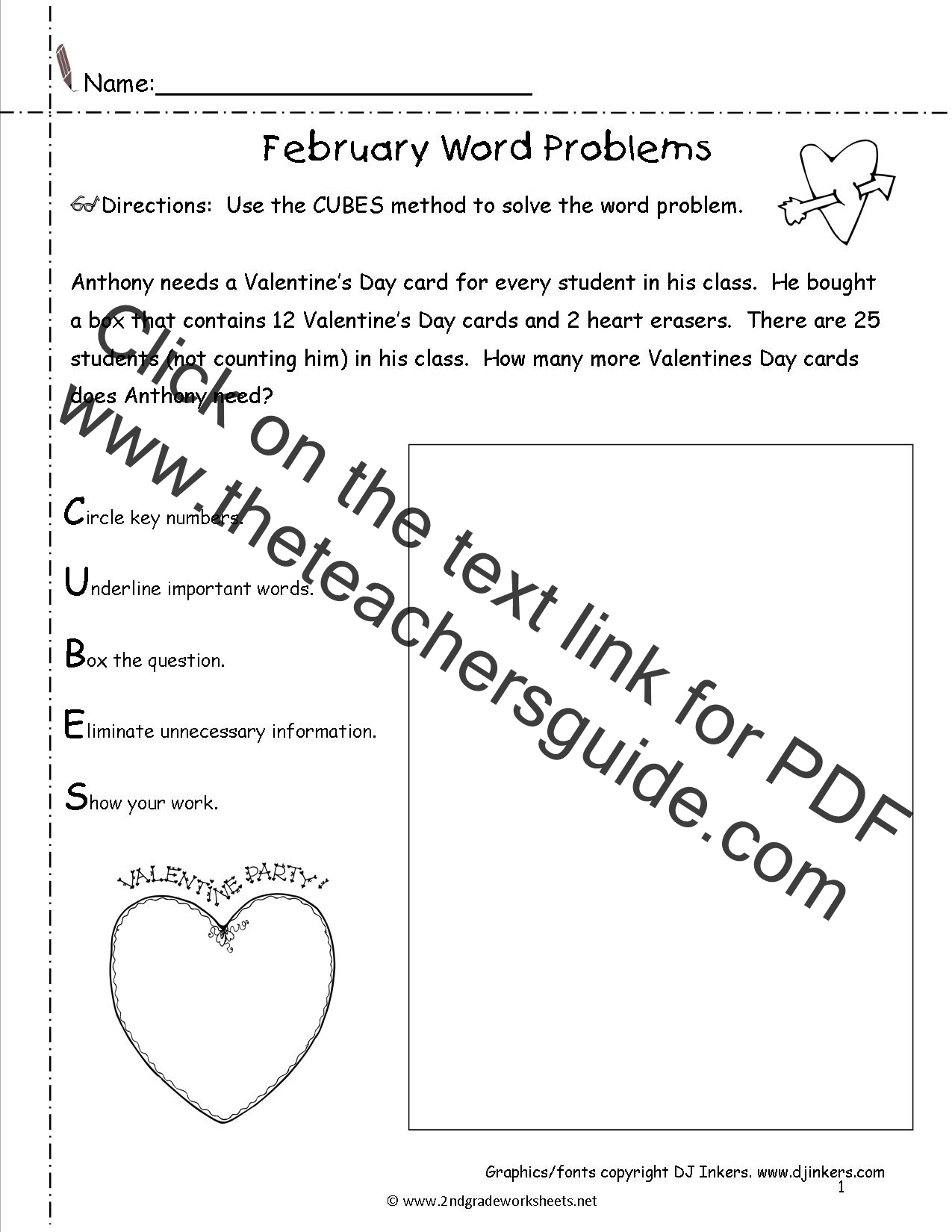 February Lesson Plans Printouts Themes Crafts And Holidays