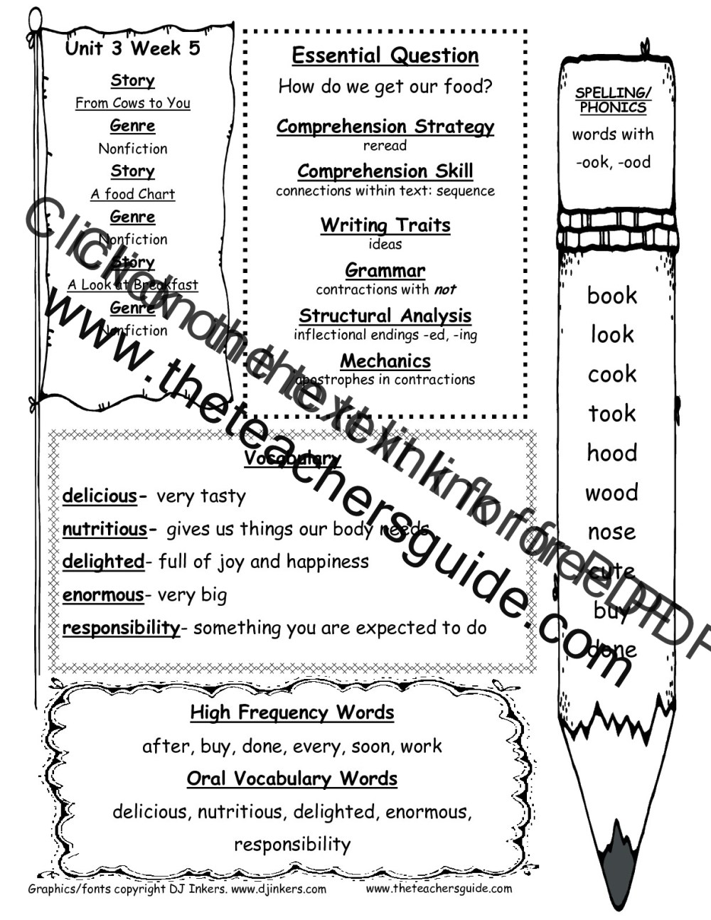 medium resolution of McGraw-Hill Wonders First Grade Resources and Printouts