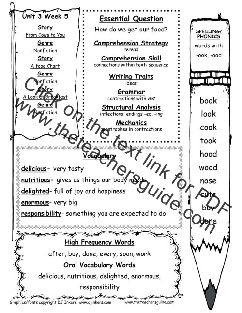 small resolution of McGraw-Hill Wonders First Grade Resources and Printouts