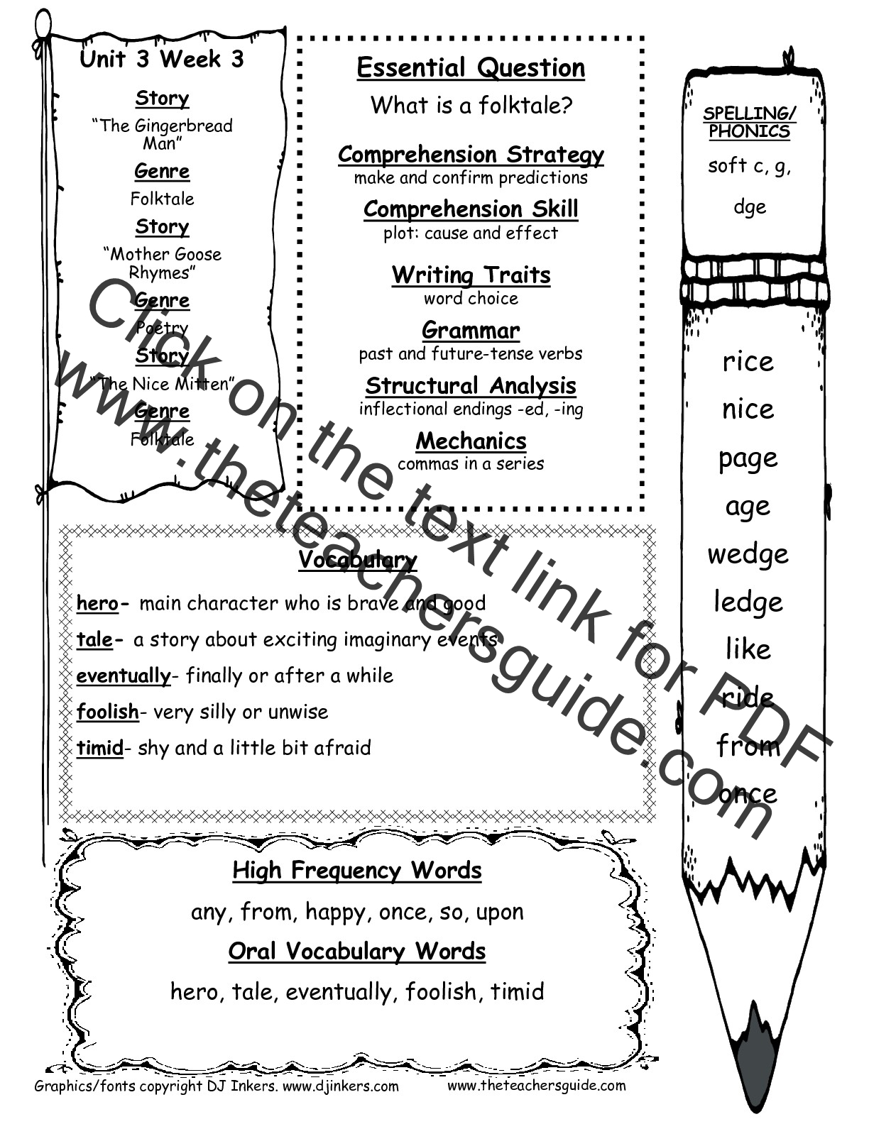 hight resolution of McGraw-Hill Wonders First Grade Resources and Printouts
