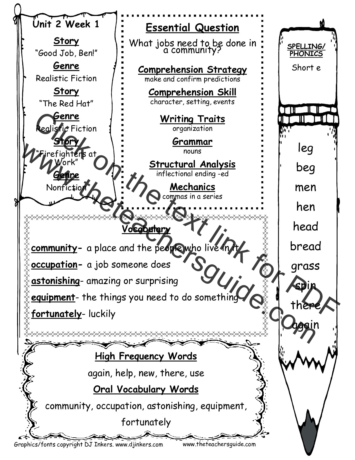 Character Education Worksheet 1st Grade