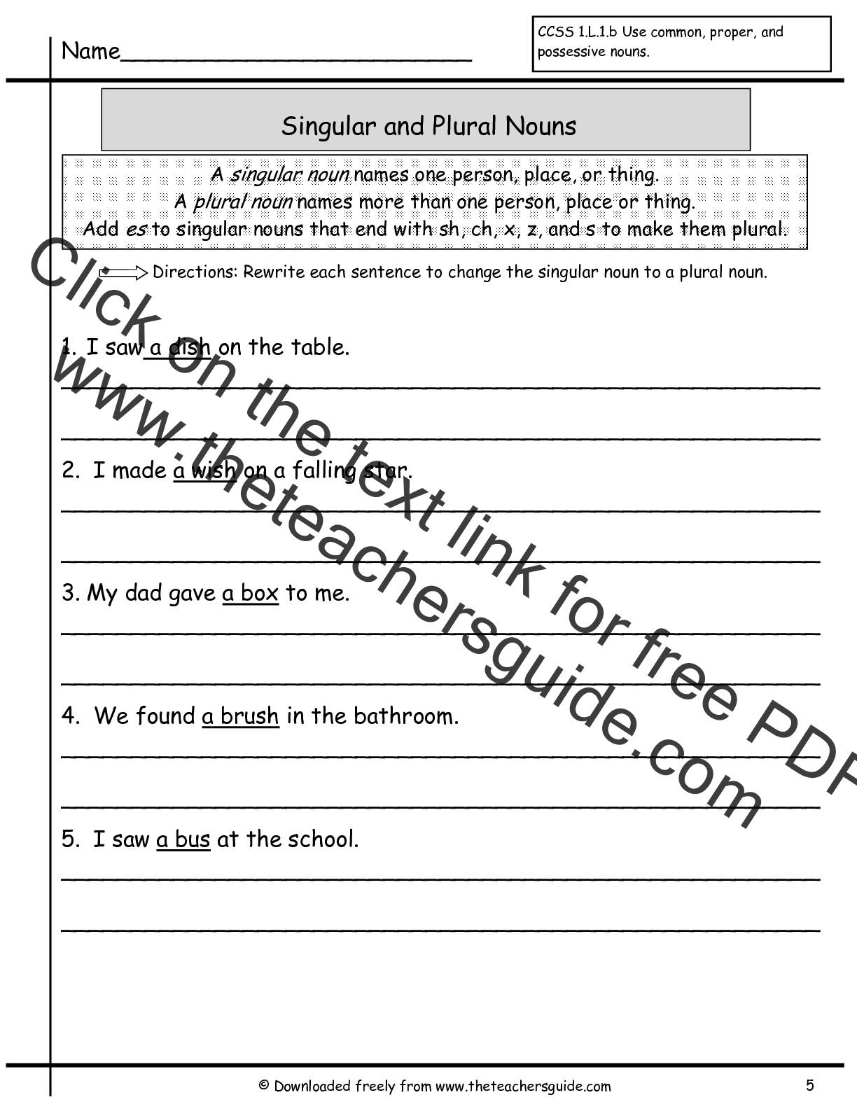 Wonders First Grade Unit Two Week Two Printouts