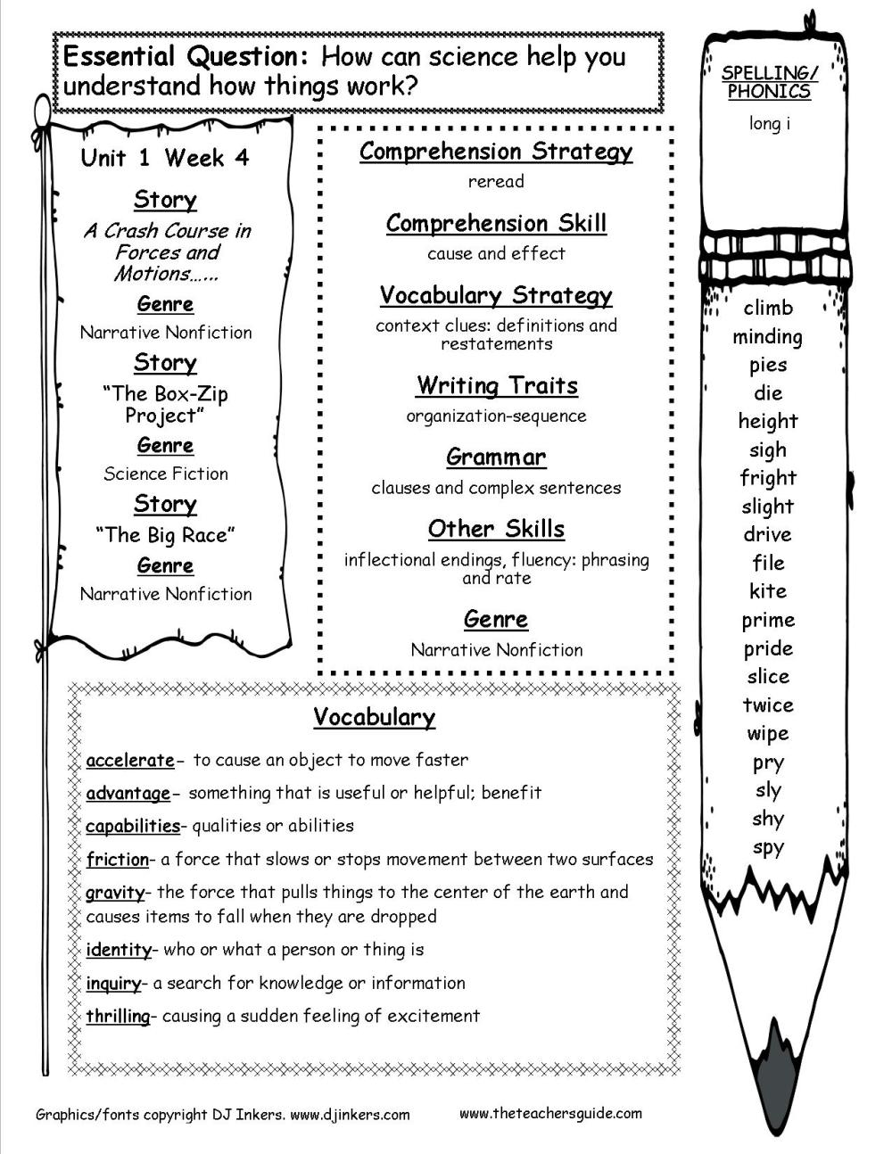 medium resolution of McGraw-Hill Wonders Fourth Grade Resources and Printouts