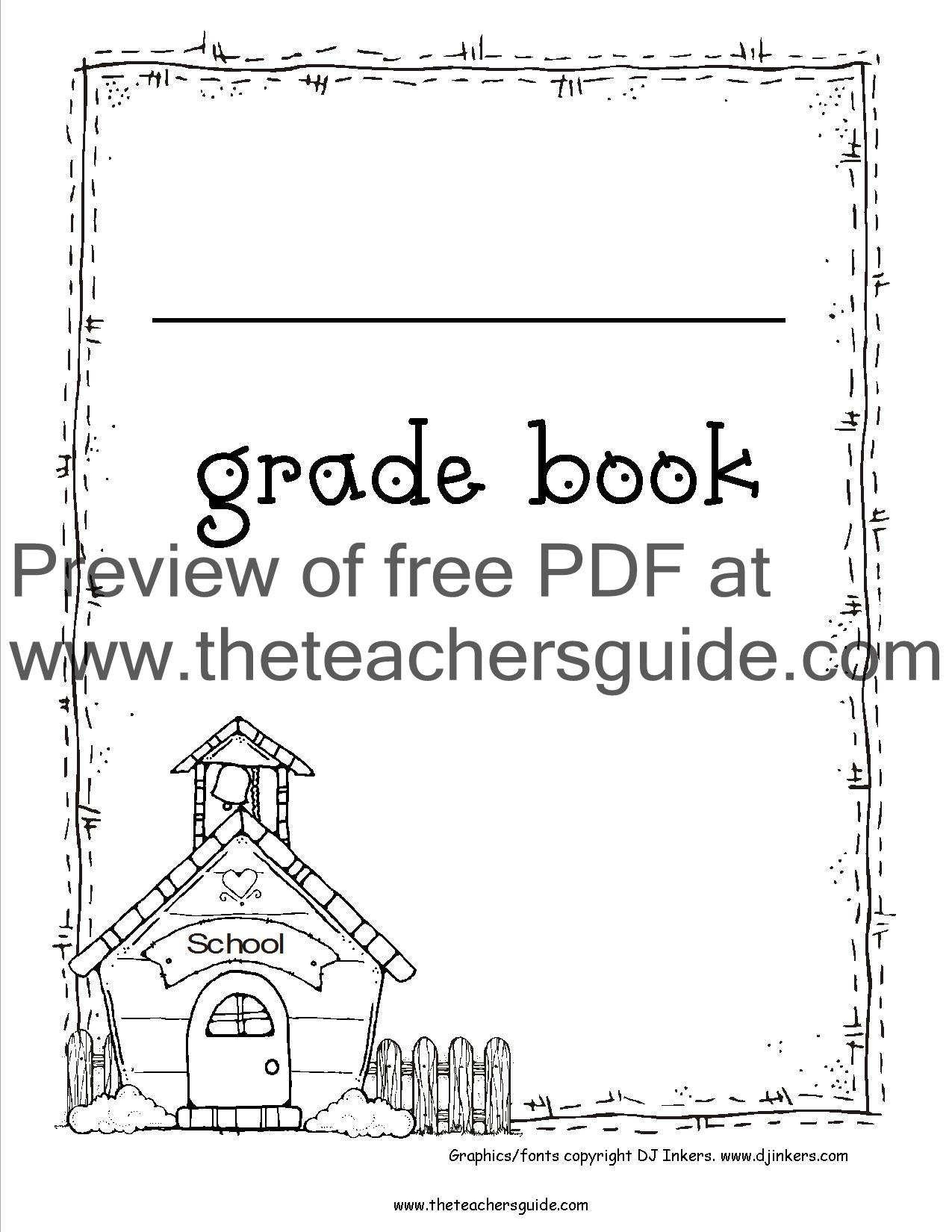 Gradebook Clip Art Of Cliparts