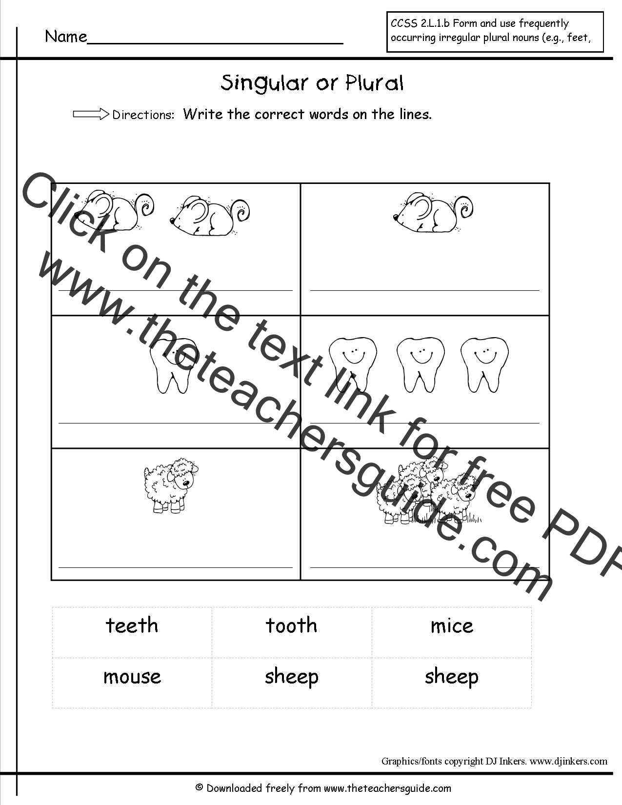 Wonders Second Grade Unit Two Week Four Printouts