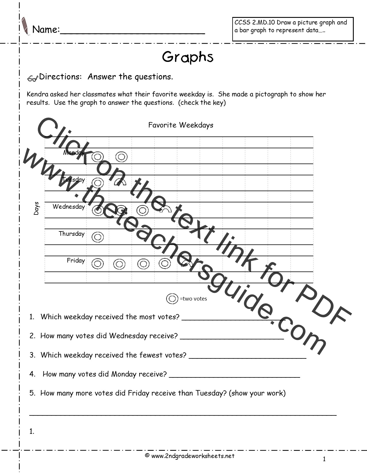 Worksheets Pictograph Worksheets Cheatslist Free