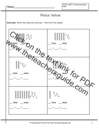 base-10-blocks-worksheets Images - Frompo - 1
