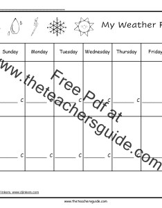 Weather forecast printout also science worksheets and printouts from the teacher   guide rh theteachersguide