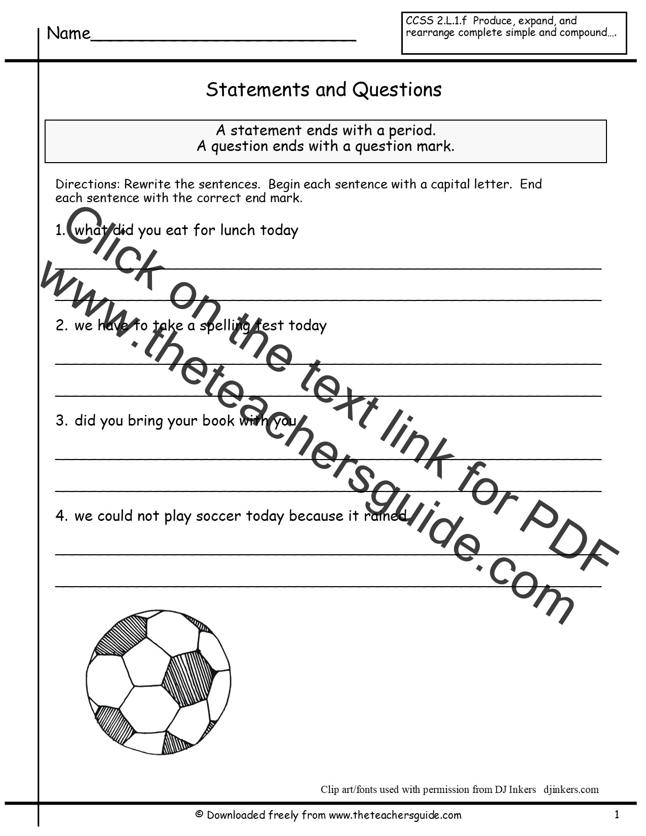 Printables Of I Statements For Kids Worksheet