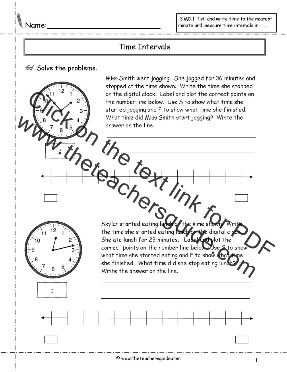 medium resolution of Quater Time Worksheet   Printable Worksheets and Activities for Teachers