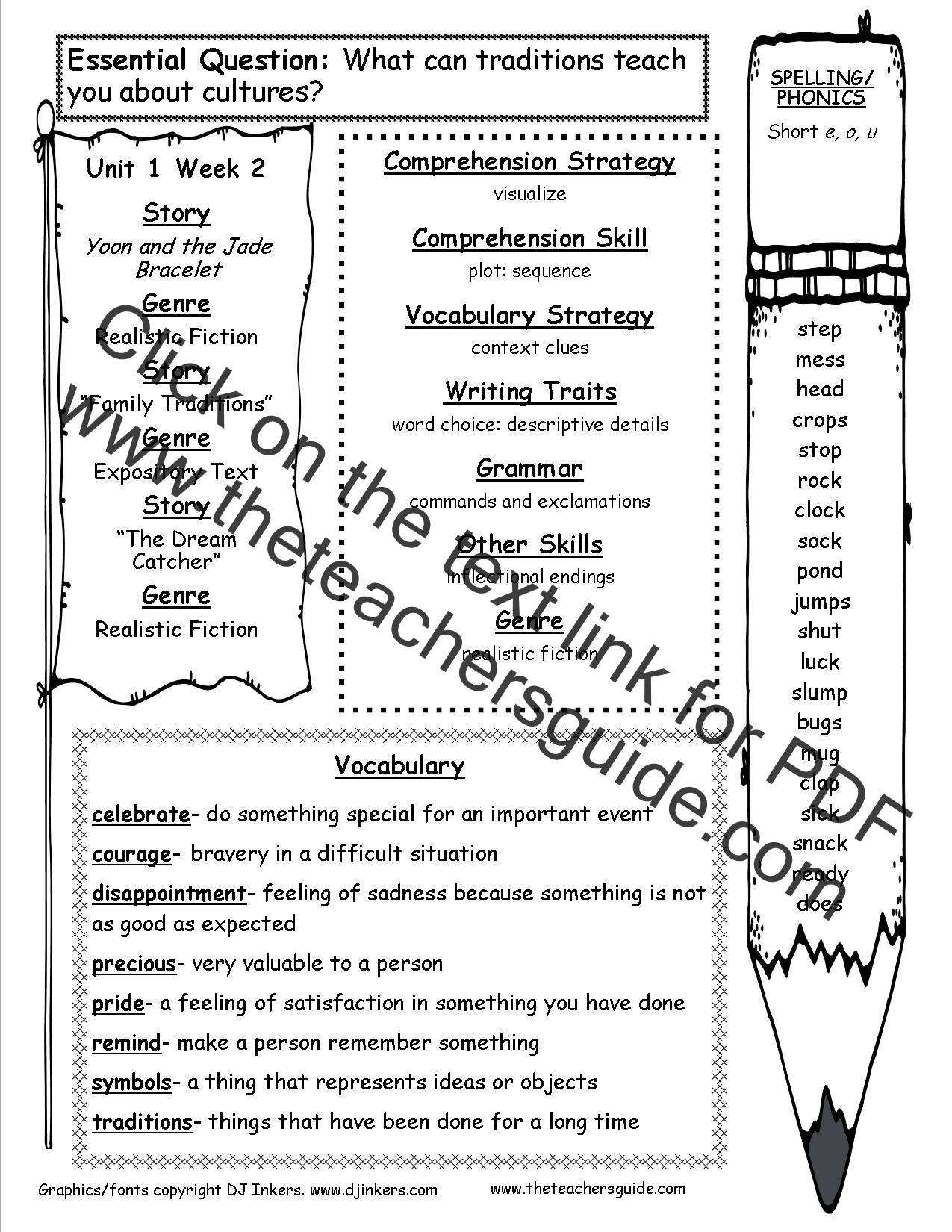 hight resolution of McGraw-Hill Wonders Third Grade Resources and Printouts