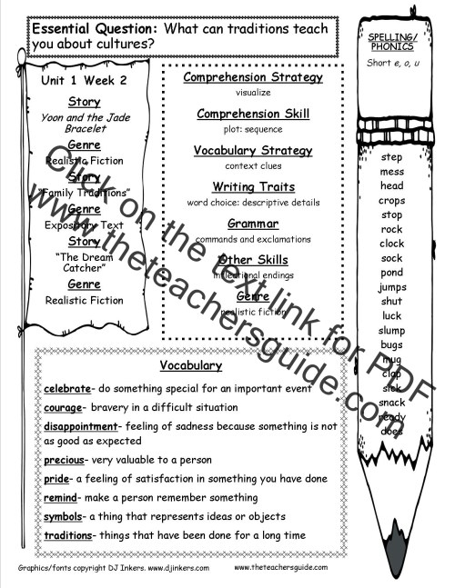 small resolution of McGraw-Hill Wonders Third Grade Resources and Printouts