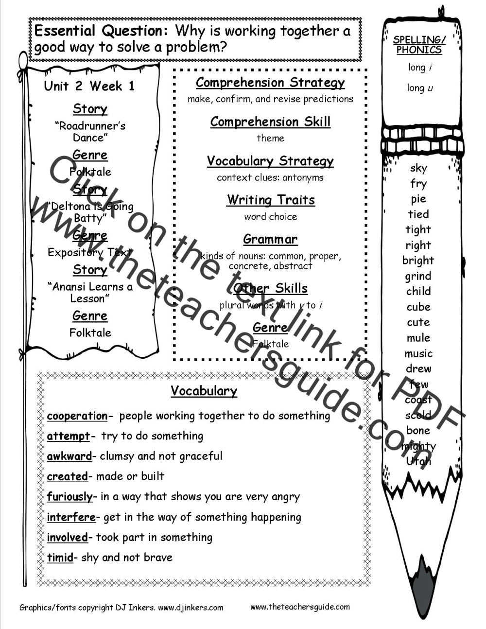 medium resolution of McGraw-Hill Wonders Third Grade Resources and Printouts