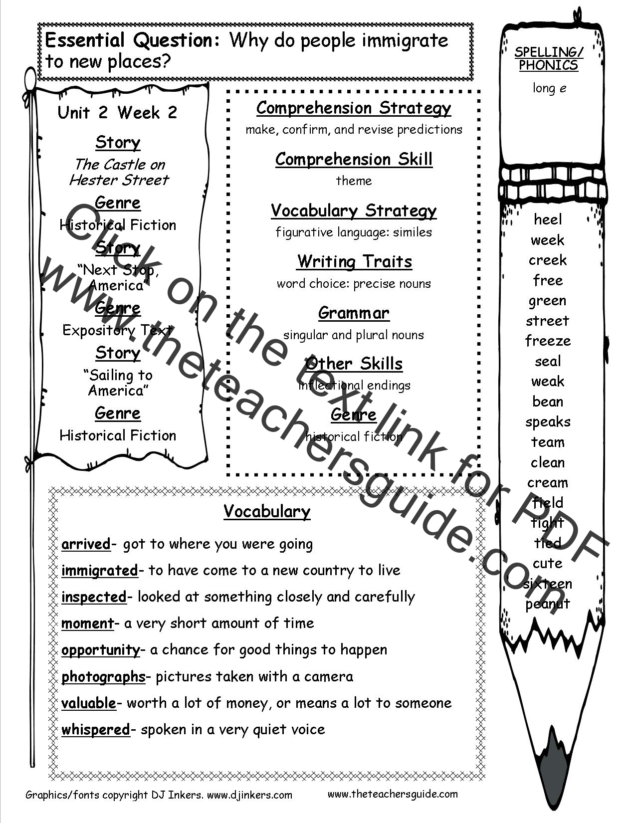 Worksheets Camel And Articles