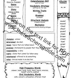 Wonders Second Grade Unit Five Week One Printouts [ 1584 x 1224 Pixel ]