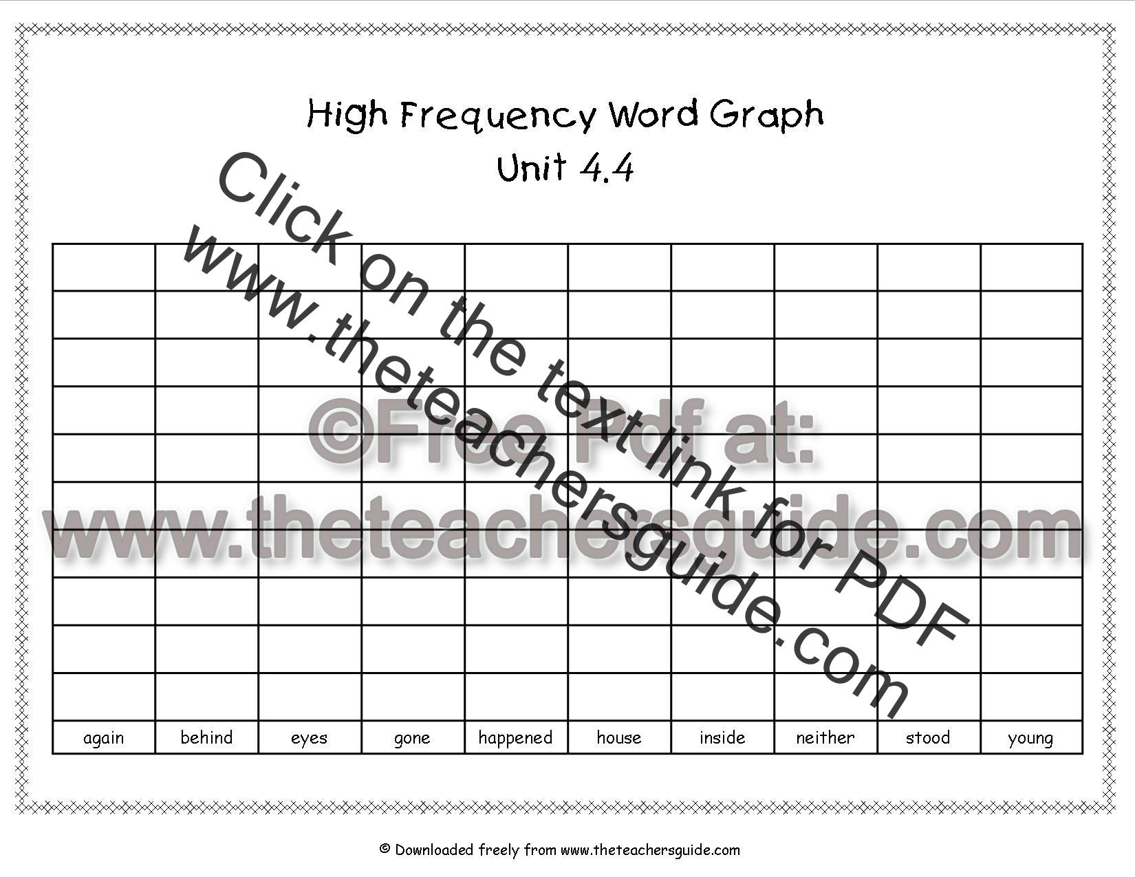 Wonders Second Grade Unit Four Week Four Printouts
