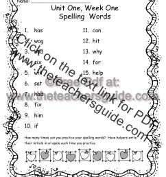 Wonders Second Grade Unit One Week One Printouts [ 1584 x 1224 Pixel ]