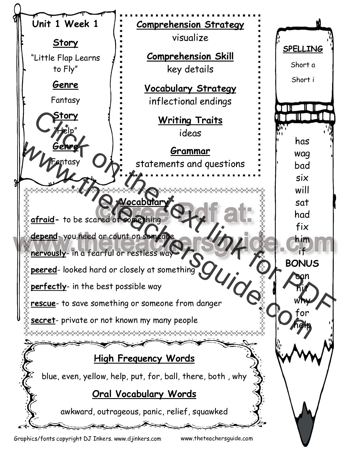 Magnet Worksheet For Fifth Grade