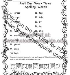 Wonders Second Grade Unit One Week Three Printouts [ 1584 x 1224 Pixel ]